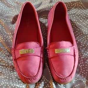 Coach Hot Pink Loafer